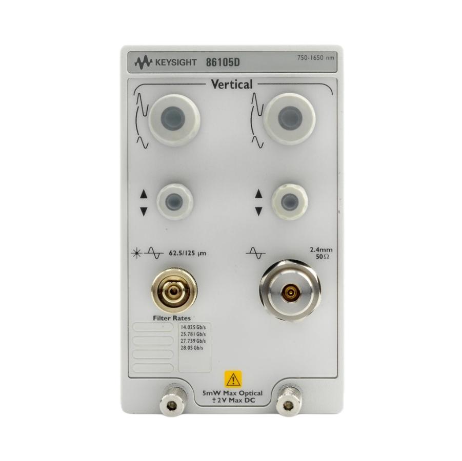 Keysight 86105D 34 GHz光学,50 GHz电气模块