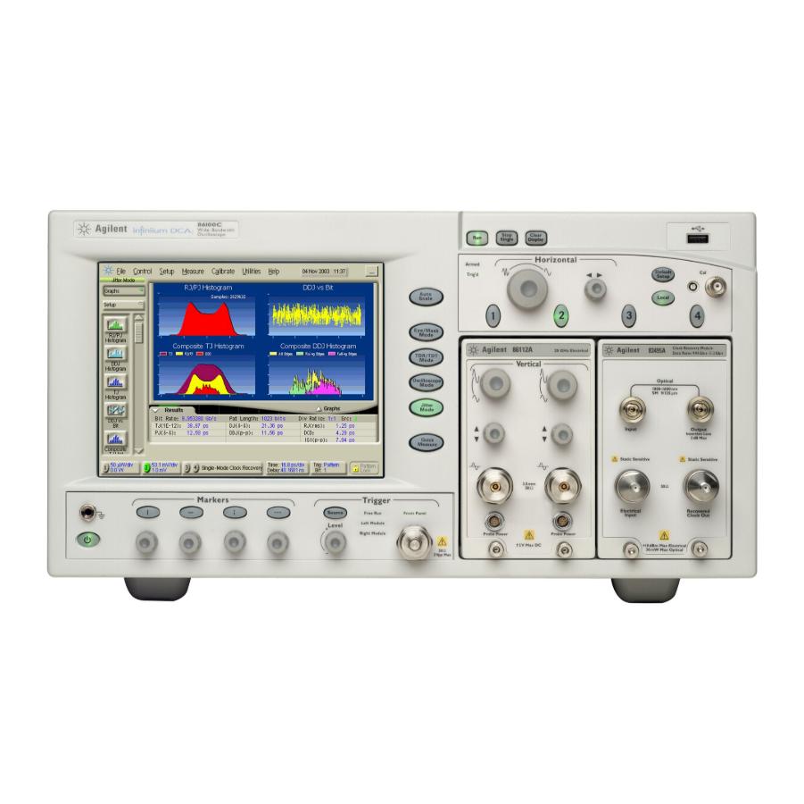 Keysight 86100C Infiniium DCA-J宽带示波器主机