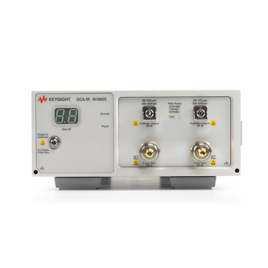 Keysight N1092E DCA-M 采样示波器(两个光通道和两个电通道)
