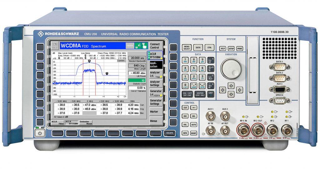 R&S®CMU200通用无线电通信测试仪