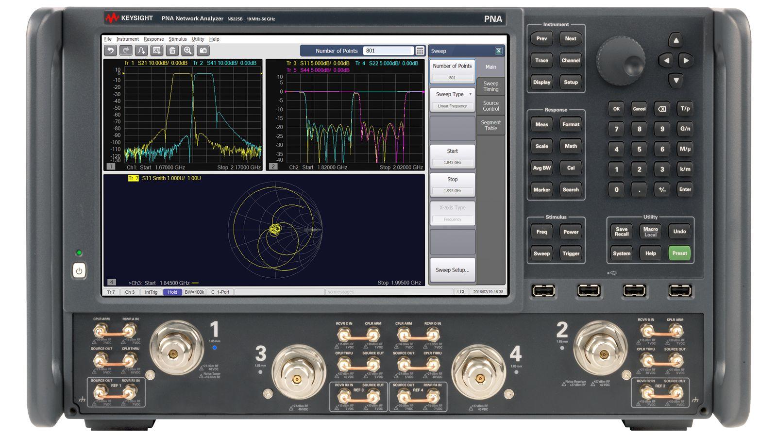 Keysight N5225B PNA网络分析仪