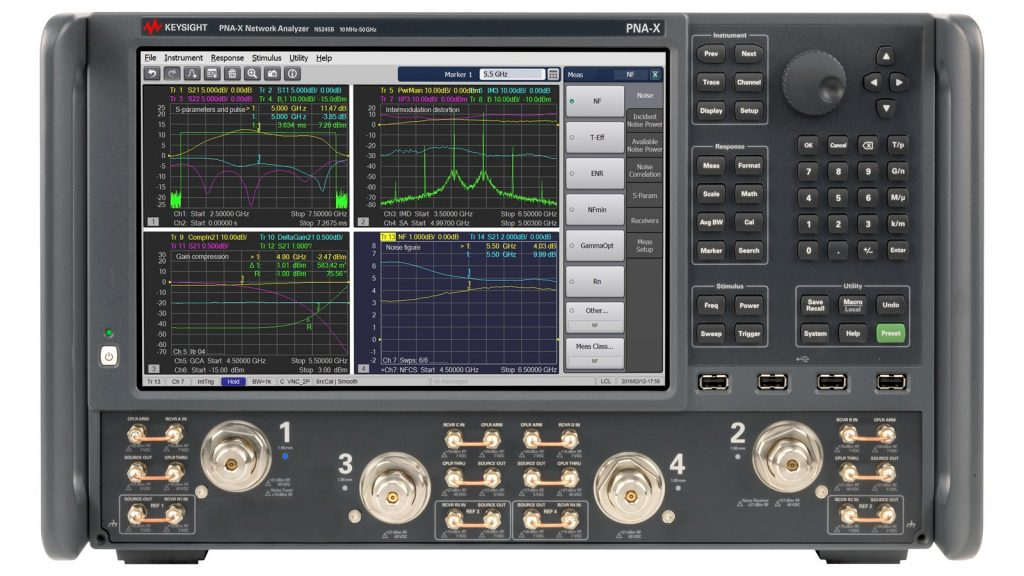 Keysight N5244B PNA-X网络分析仪