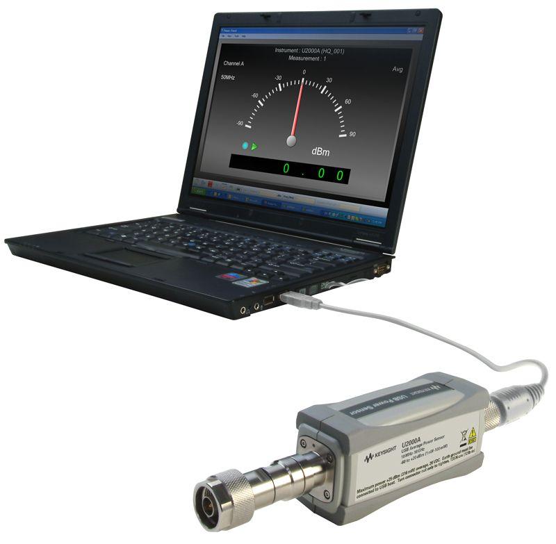 Keysight U2000A 10 MHz – 18 GHz USB 功率传感器