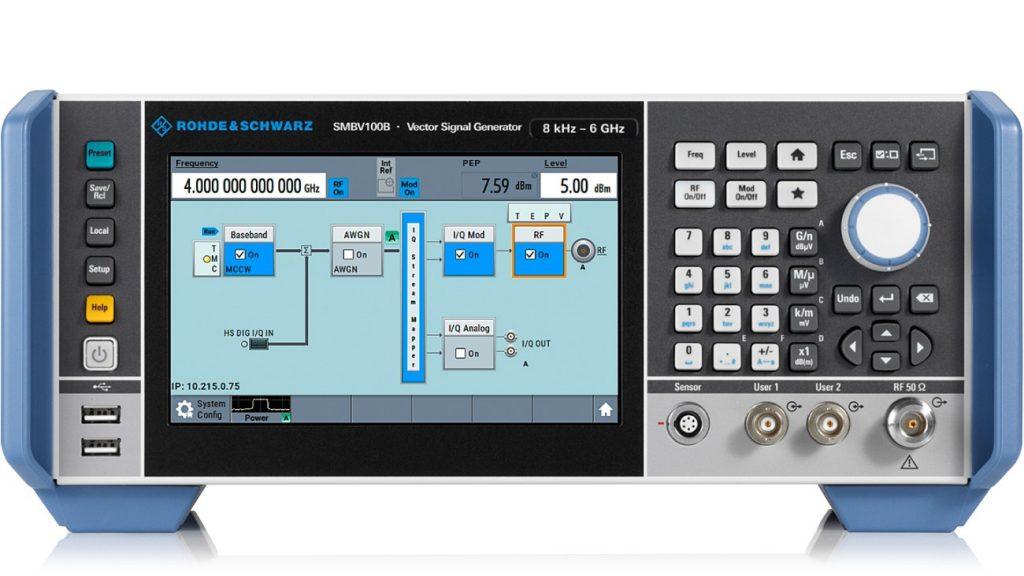 R&S®SMBV100B 矢量信号发生器