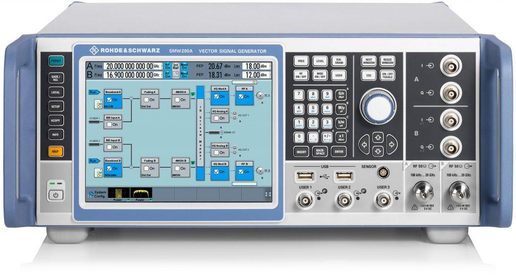 R&S  SMW200A 矢量信号发生器