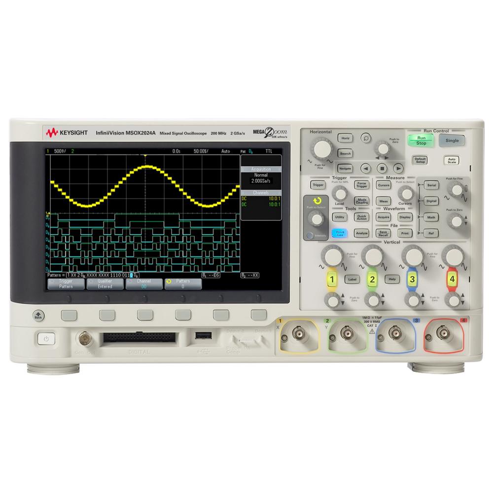 Keysight MSOX2024A 混合信号示波器