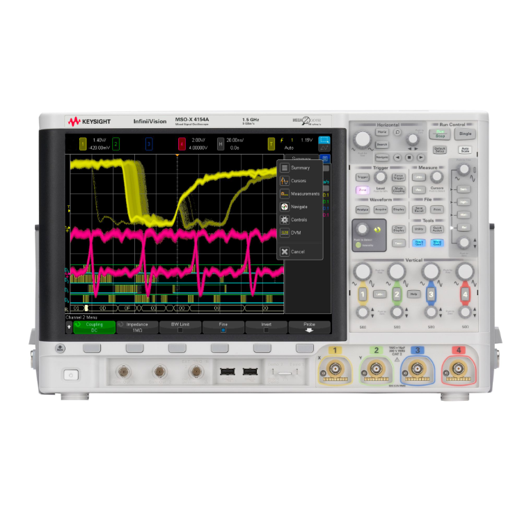 Keysight MSOX4154A混合信号示波器