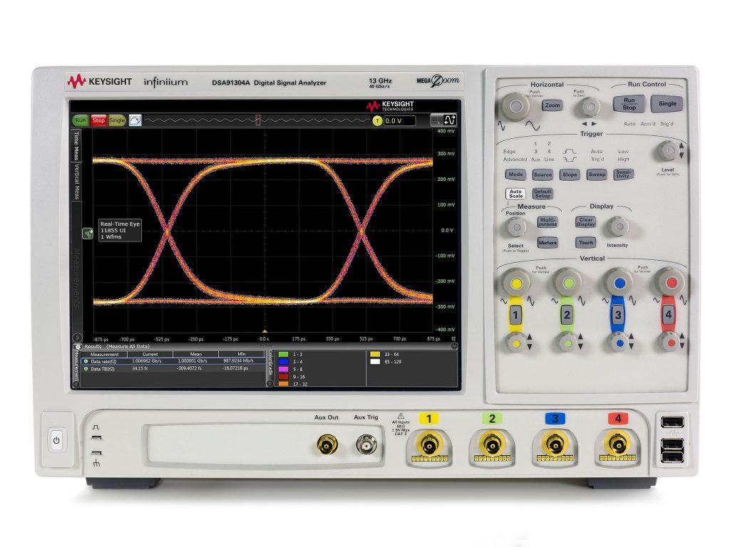 Keysight DSA91304A  高性能示波器