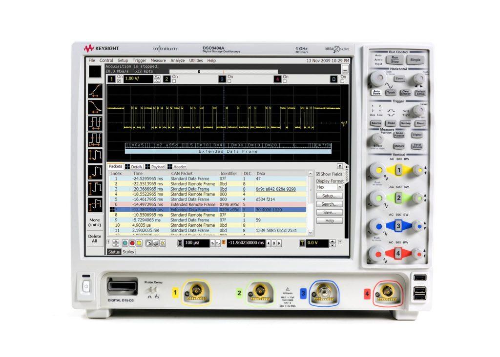 Keysight DSO9404A 示波器