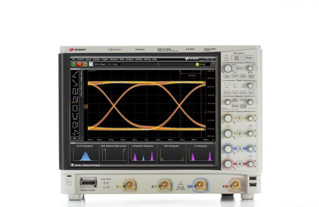 Keysight DSOS254A 高清晰度示波器