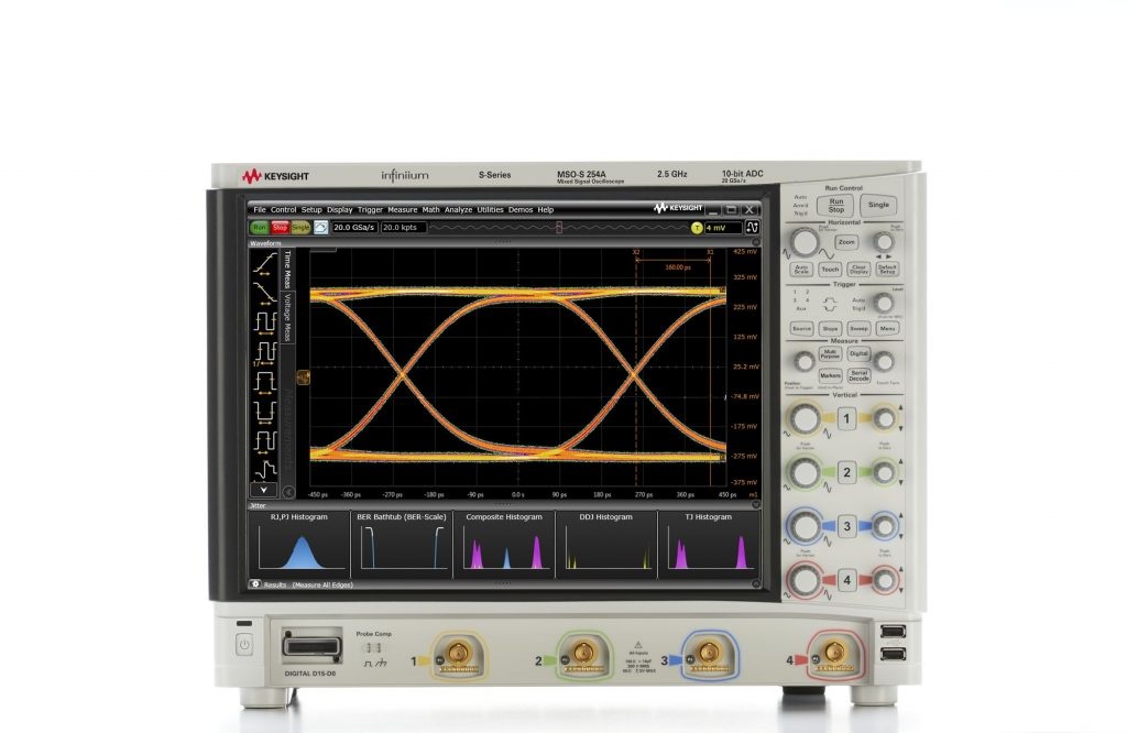 Keysight MSOS254A 高清晰度示波器